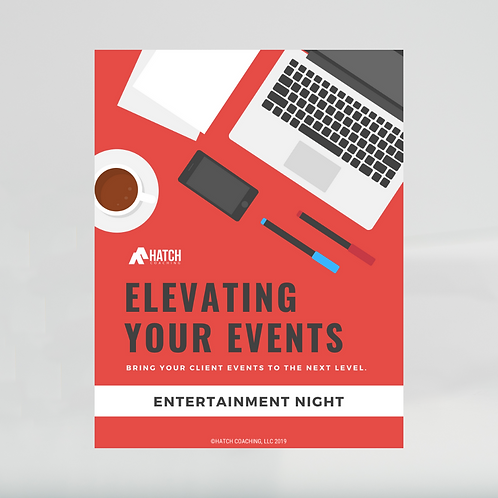 Entertainment Night Event Template