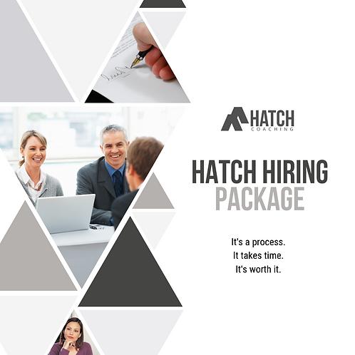 Hatch Hiring Package