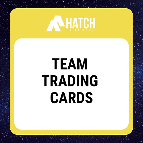Team Trading Card Template