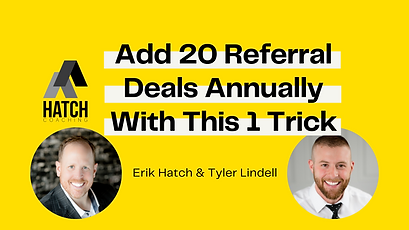 Add 20 Referral Deals Annually With This
