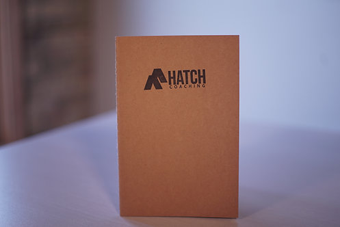 Hatch Coaching Kraft Notebook