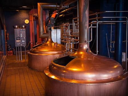 Penn Brewery brewhouse