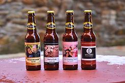 Custom Penn Brewery Beer Bottles