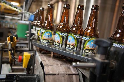 Penn Brewery bottling line