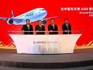 Airbus abre as portas na China!
