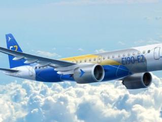 Embraer prevê demanda para 1540 novos Jatos na Europa e além.