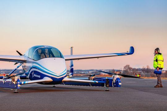 Boeing's prototype autonomous air taxi. (Photo: Boeing)