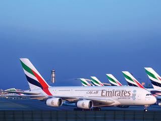 Emirates pára 46 Aeronaves por falta de Pilotos.