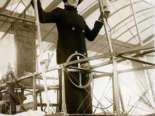 Flight of the 1st Female pilot.