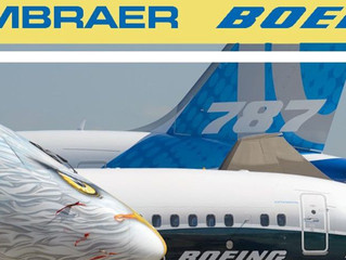 Boeing e Embraer fecham acordo histórico.