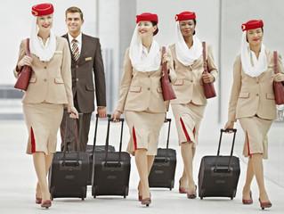 Emirates vem buscar comissários no Brasil!