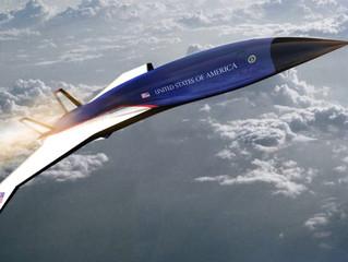 Novo força Aérea 1supersônico? (Teste seu ICAO)
