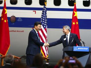 Boeing fecha venda histórica de 300 aeronaves a China!