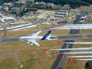 Foi dada a largada Farnborough 2016! Um dos maiores shows aéreos do MUNDO!