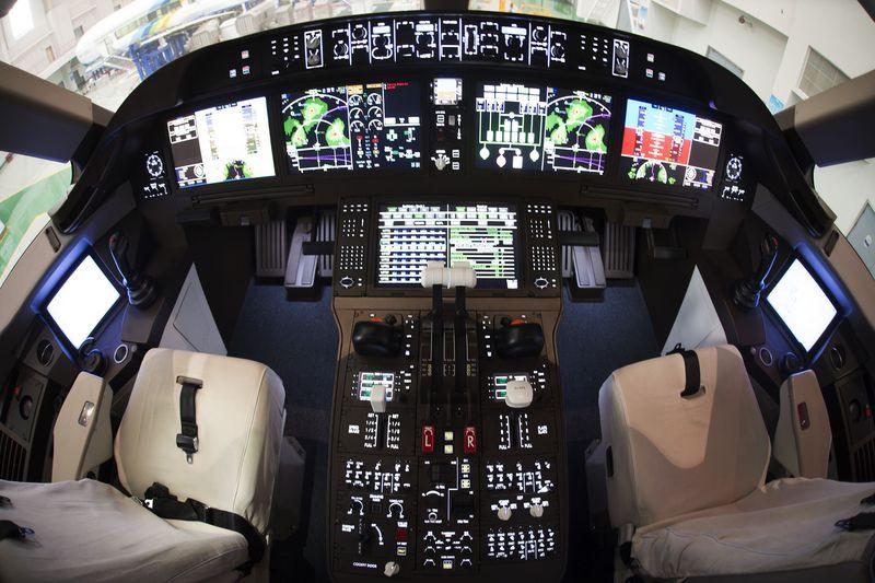 China C919 Cockpit