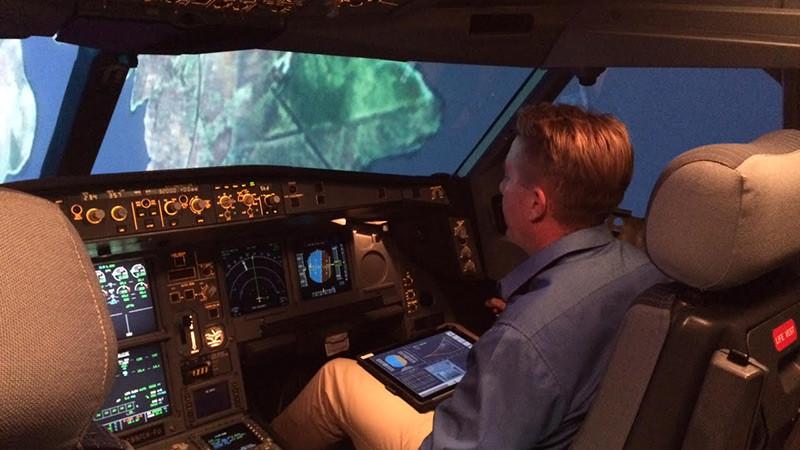 Simulator pilot