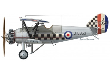 Armstrong Whitworth Siskin fighter