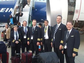 Boeing prevê demanda de quase 1.5 milhões de Pilotos até 2035