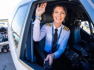 Porque mulheres na aviação ainda são tão raras? (Teste seu ICAO)