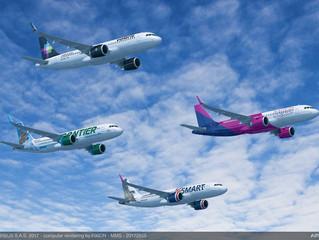 Airbus fecha venda recorde de US$50 bilhões. Boeing responde...