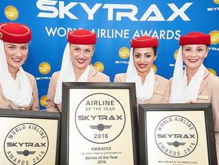 As melhores Empresas Aéreas e aeroportos do mundo 2016! Skytrax Awards.