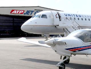 Empresas aéreas Americanas pagam treinamento de novatos.