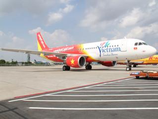 Vietjet recebe mais uma aeronave Airbus para sua frota crescente.