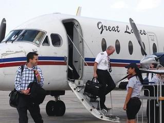 Mais uma empresa aérea cancela voos devida a falta de pilotos.