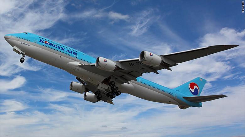 Final boeing 747 korean air