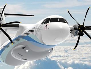 ATR Prevê demanda para mais de 750 novos turbo hélices.
