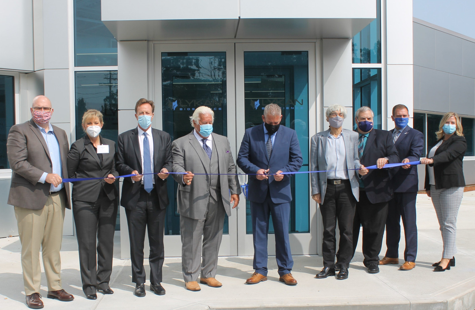 Lykan Ribbon Cutting