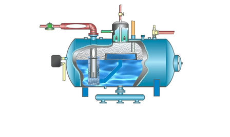 Infographic animation of Steam Boiler