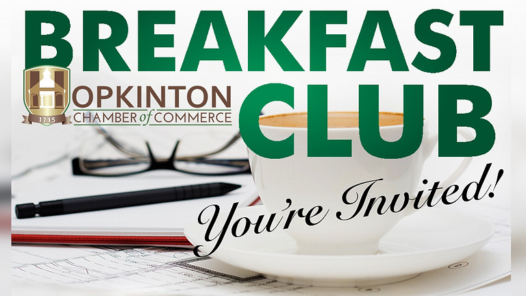 Monthly Breakfast Club - May 13, 2021