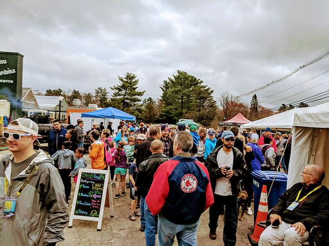 Crowd at 2019 Marathon Spectaclar