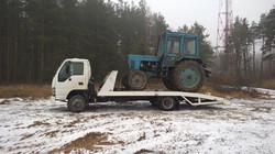 перевозка трактора в Электростали