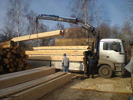 перевозка строительных материалов в Балашихе