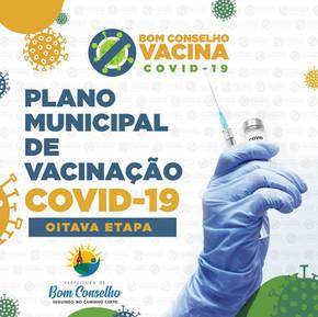 PLANO MUNICIPAL DE VACINAÇÃO CONTRA COVID-19 – OITAVA ETAPA