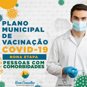 PLANO MUNICIPAL DE VACINAÇÃO CONTRA COVID-19 NONA ETAPA - 4ª FASE