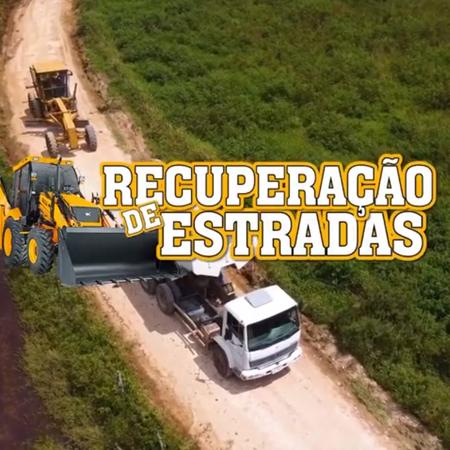 INFORME PUBLICITÁRIO - RECUPERAÇÃO DE ESTRADAS