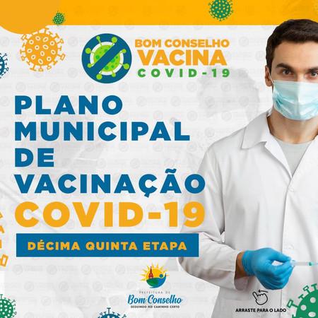 PLANO VACINAÇÃO COVID-19 DÉCIMA QUINTA ETAPA