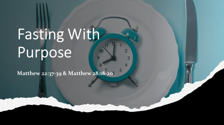 Fasting With Purpose
