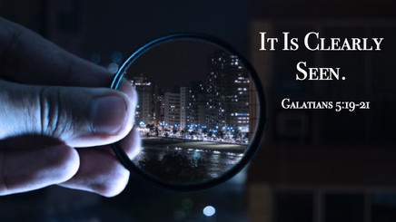 It Is Clearly Seen