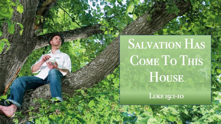 Salvation Has Come To This House
