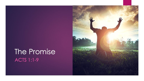 The Promise, Part 1