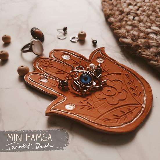Mini Hamsa Trinket Dish