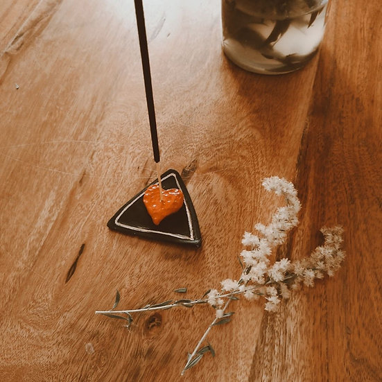 Love Triangle Incense Holder & Magnet