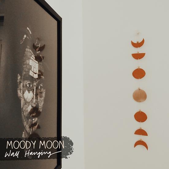 Moody Moon Wall Hanging