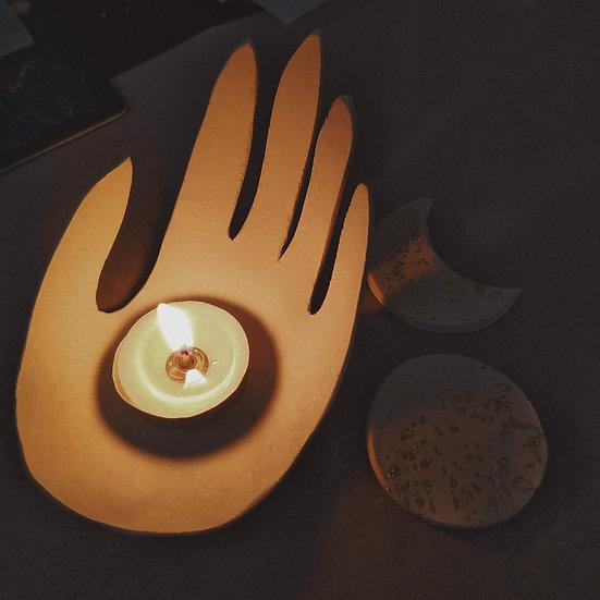 The Hand Tealight Holder
