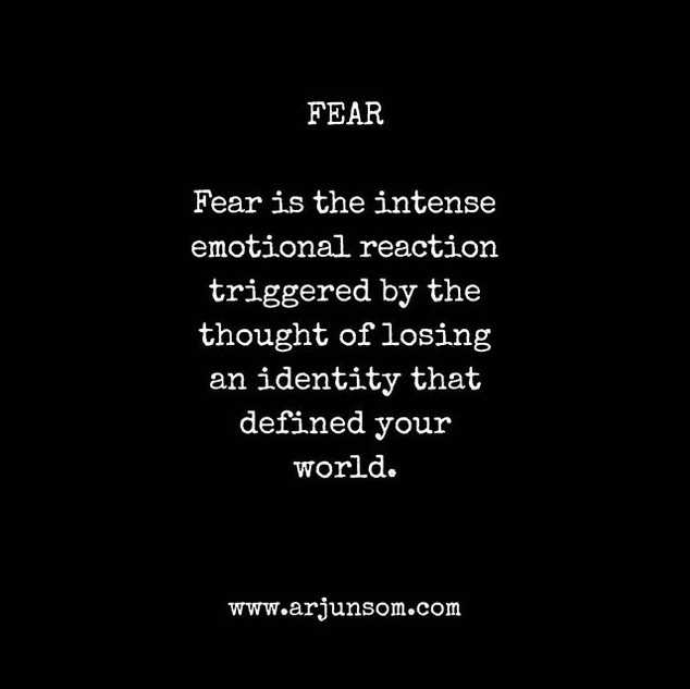 Fear is your friend,_who is extremely co