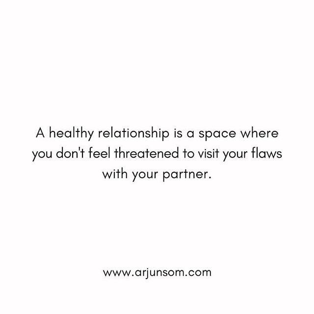 Learn to love yourself for who you are and don't settle for a partner who can't embrace you with all your flaws.  This isn't an escape from looking at your flaws but creating a space where you could feel comfortable to take your partner's support in bringing out the best in you.